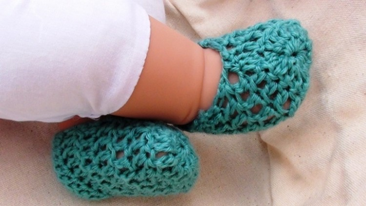 Ideas for Crochet Baby Shoes