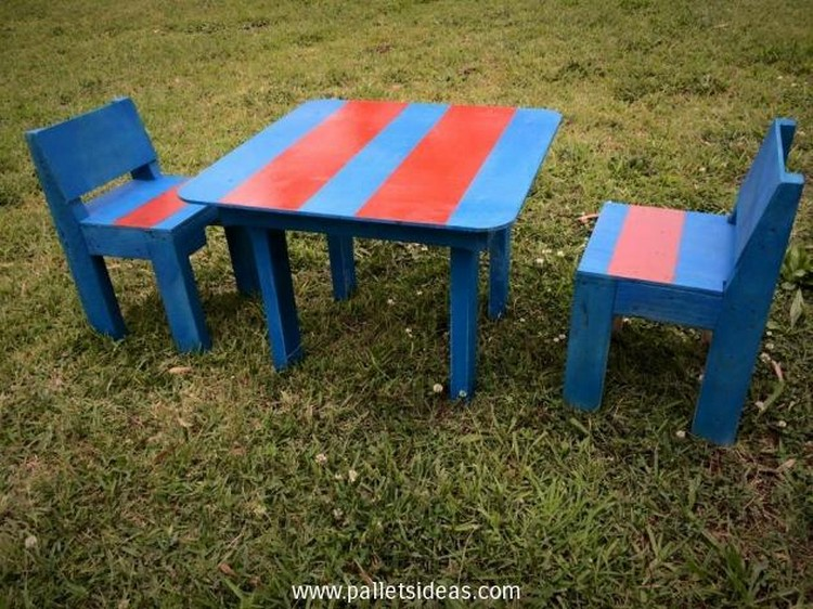 Pallet Furniture for Kids