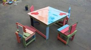 Pallet Made Furniture for Kids