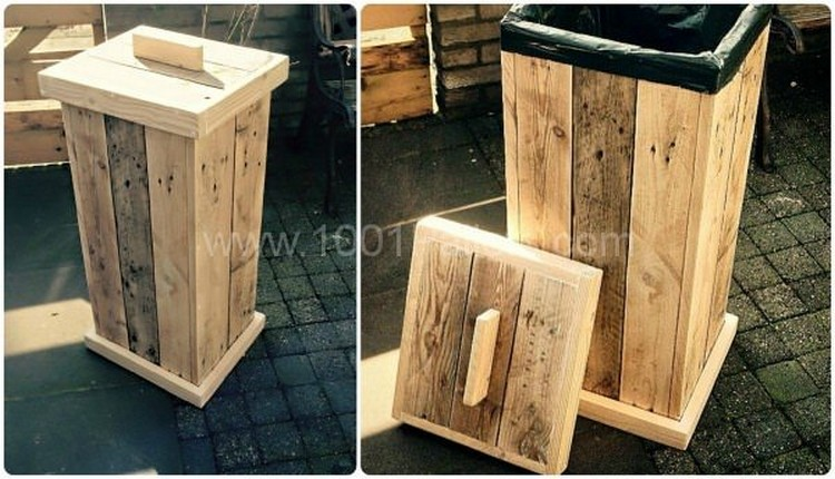 24 awesome pallet recycling projects recycled things for Making things with wooden pallets