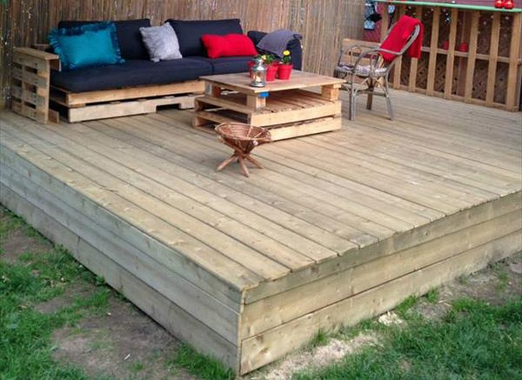 Recycled Pallet Wood Decks Things