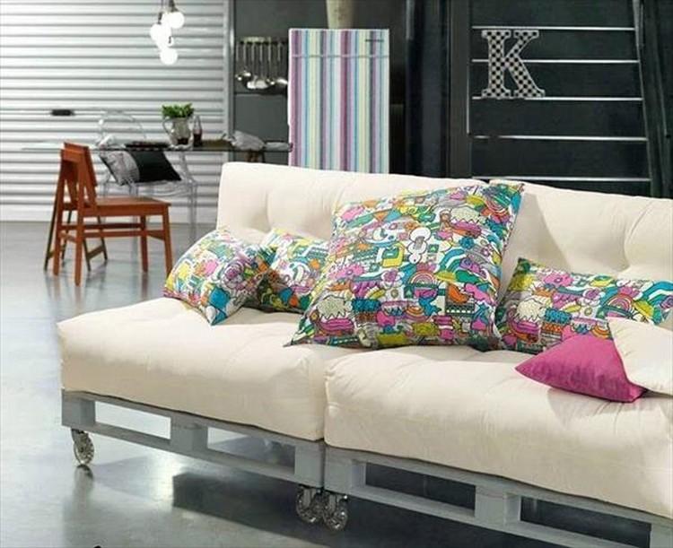 Pallet Sofa Plans