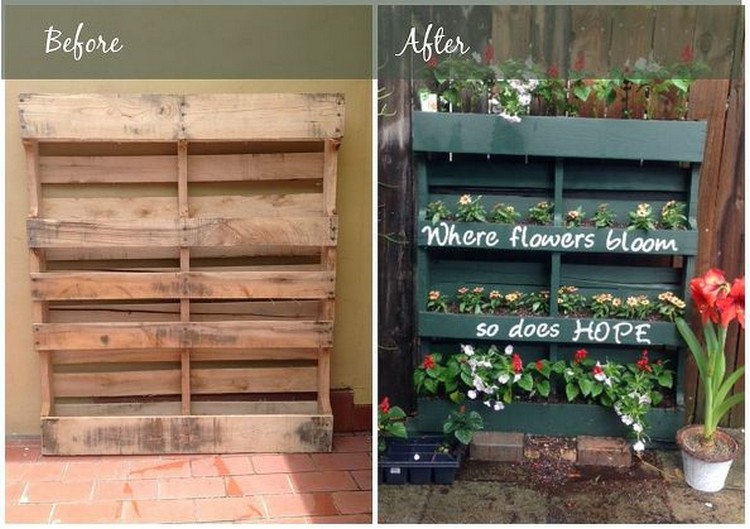 24 awesome pallet recycling projects recycled things - Diy projects with wooden palletsideas easy to carry out ...