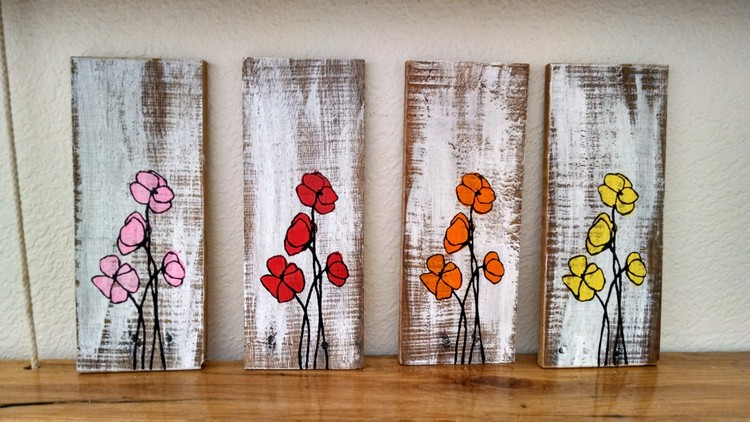 Pallet Wood Wall Art diy recycled pallet wood wall art | recycled things