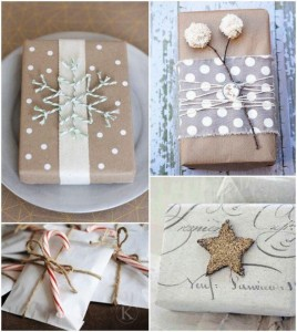 Recycled Paper Gift Pack Ideas