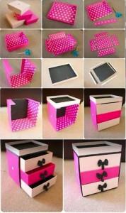 Ways To Repurpose Shoe Boxes