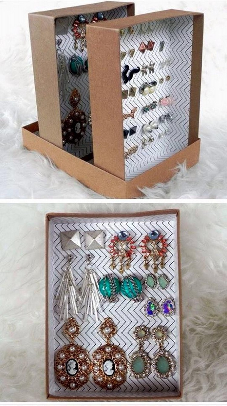 Shoe Boxes into Jewelry Box