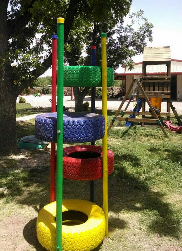 Tires Playground
