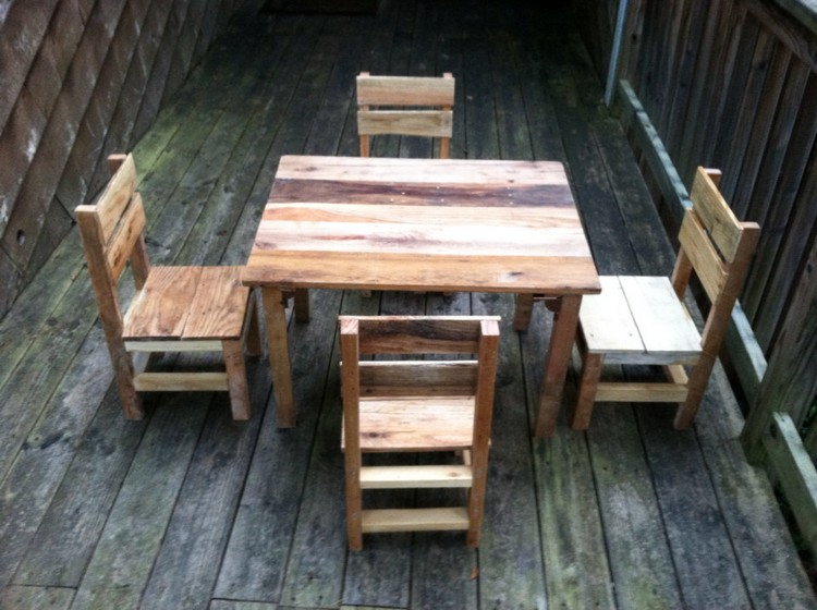 Toddlers Pallet Furniture