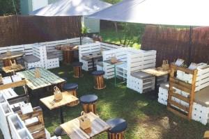 Pallet Made Cafe Furniture