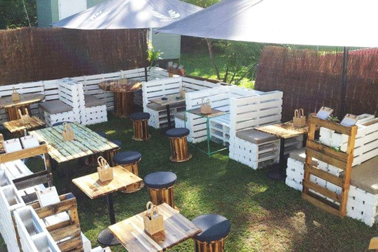 Pallet Made Cafe Furniture Recycled Things