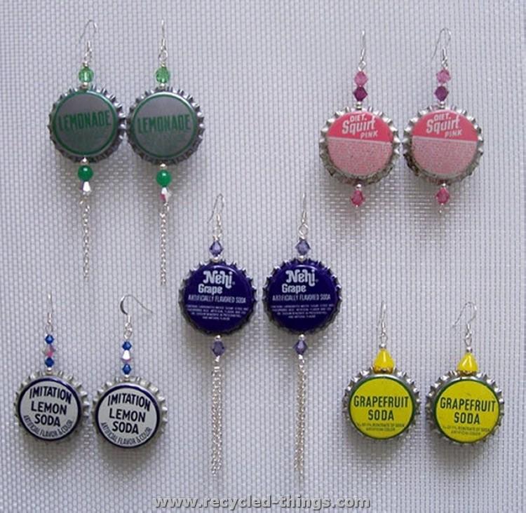 Bottle Caps Jewelry