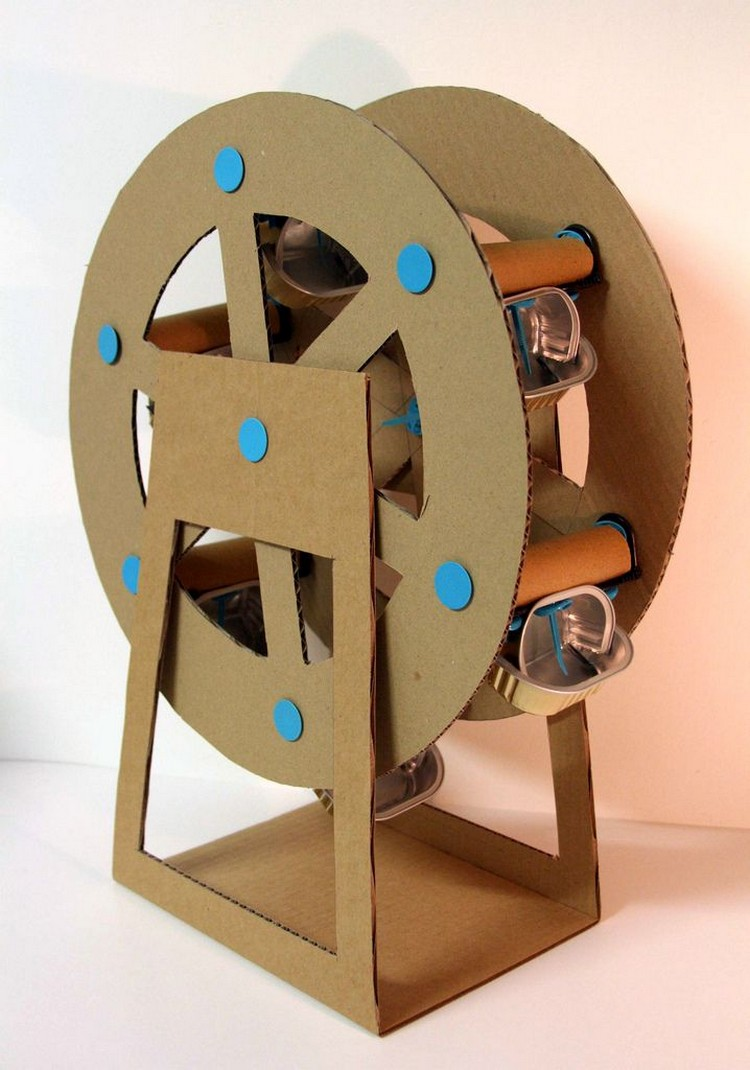 Innovative Cardboard Crafts Ideas Recycled Things