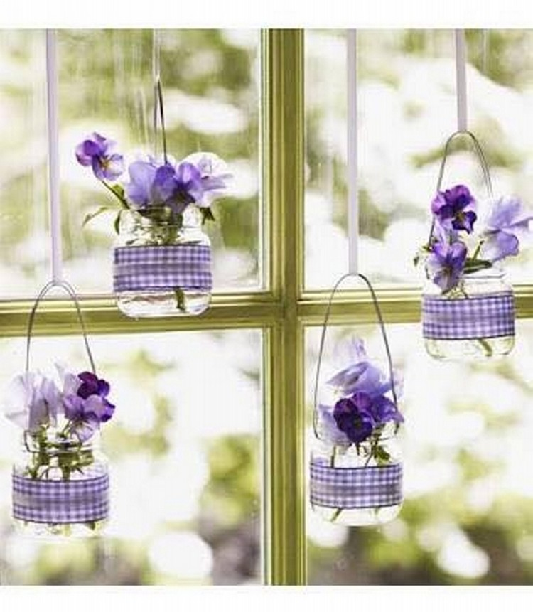 Glass Jars Decor Ideas