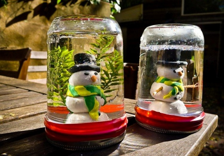 Creative ideas for glass jars recycled things for Crafts to make with glass jars
