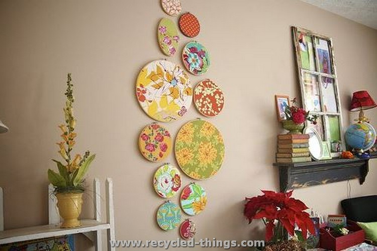 Cool and easy home decor ideas recycled things for Arts and crafts christmas decoration ideas