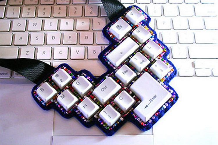 Keyboard Buttons Jewelry