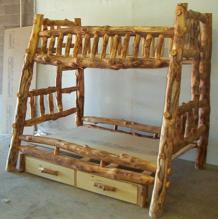 ... Furniture Chair Log Bunk Bed