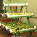 PVC Pipe Herb Planter