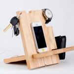 Reclaimed Pallet Cell Phone Holders