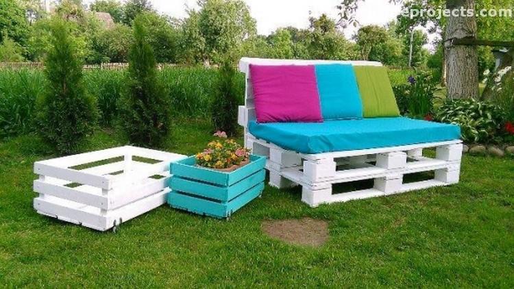 Pallet Lounge Sofa
