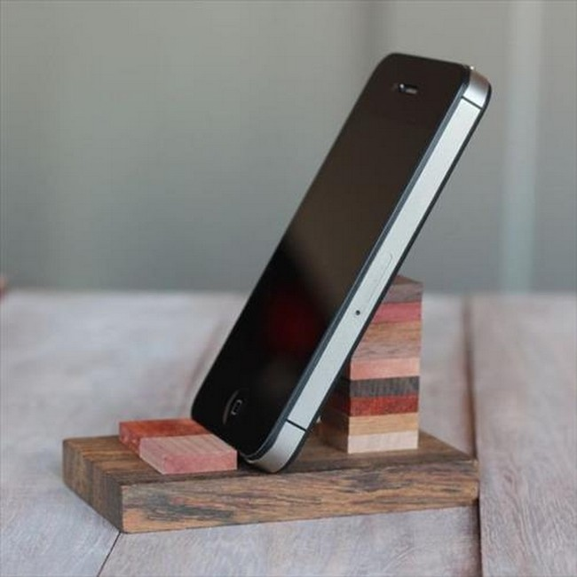 Pallet Made Cell Phone Holder