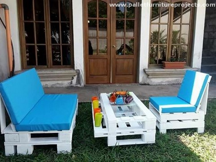 Patio Furniture Made From Pallets lounge furniture made from pallets | recycled things
