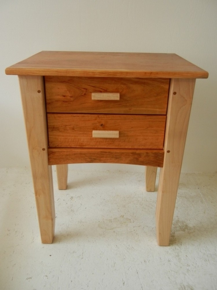Pallet end tables with drawers recycled things for End tables with drawers