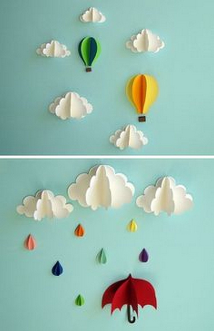 Wall Decor Ideas with Paper | Recycled Things