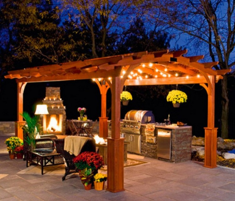 Amazing techniques to decorate your pergola recycled things Construire une pergola