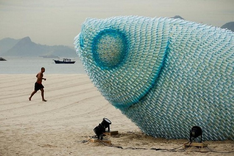 Recycled Bottles Fish