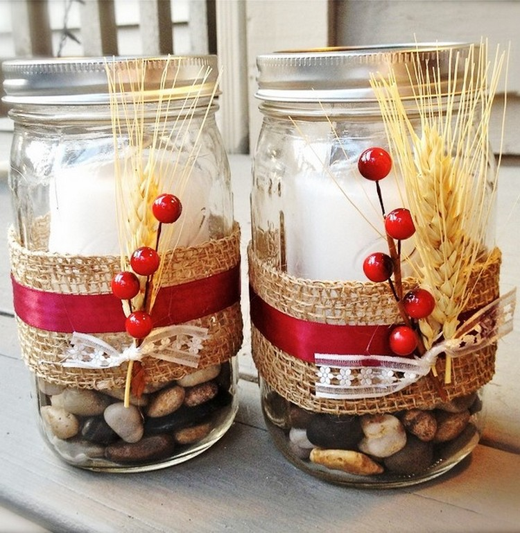 creative ideas for glass jars recycled things