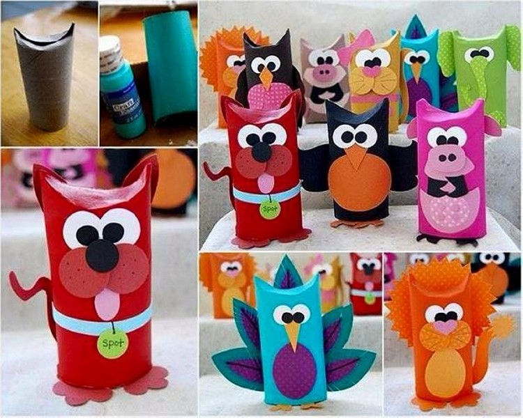 toilet paper roll crafts for kids recycled things. Black Bedroom Furniture Sets. Home Design Ideas