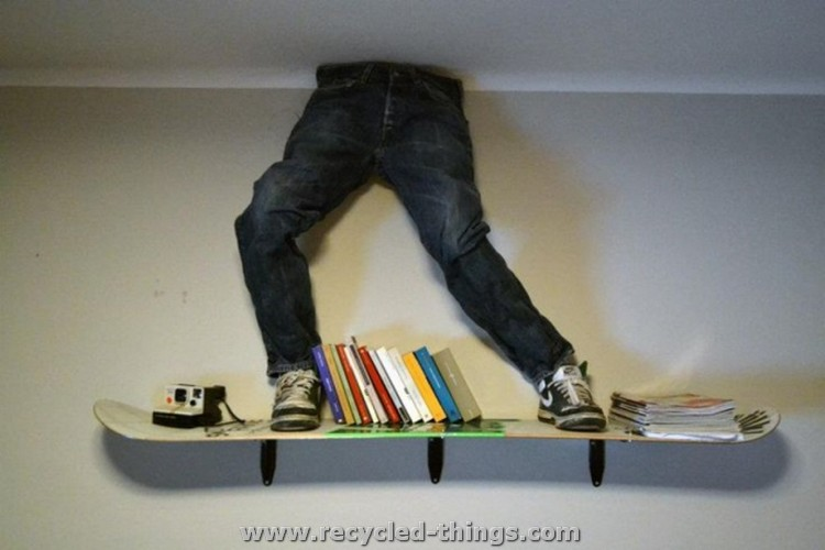 Upcycled Snowboard Ideas