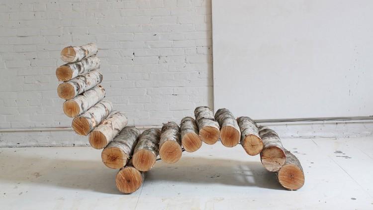 Wood Logs Chair