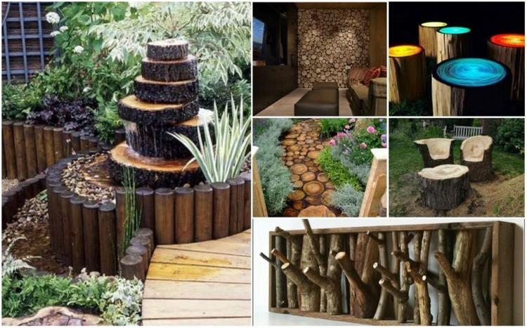 Log Decorating Ideas