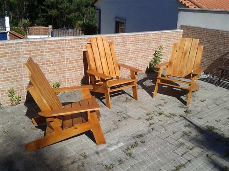 Pallet Adirondack Chair Ideas
