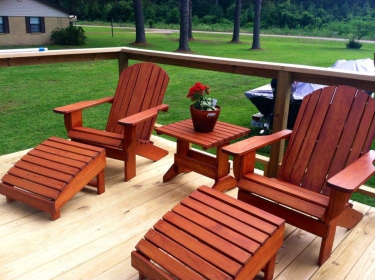 Pallet Adirondack Chair Plans | Recycled Things