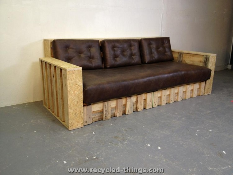Recycled pallet furniture ideas recycled things for Pallet furniture designs