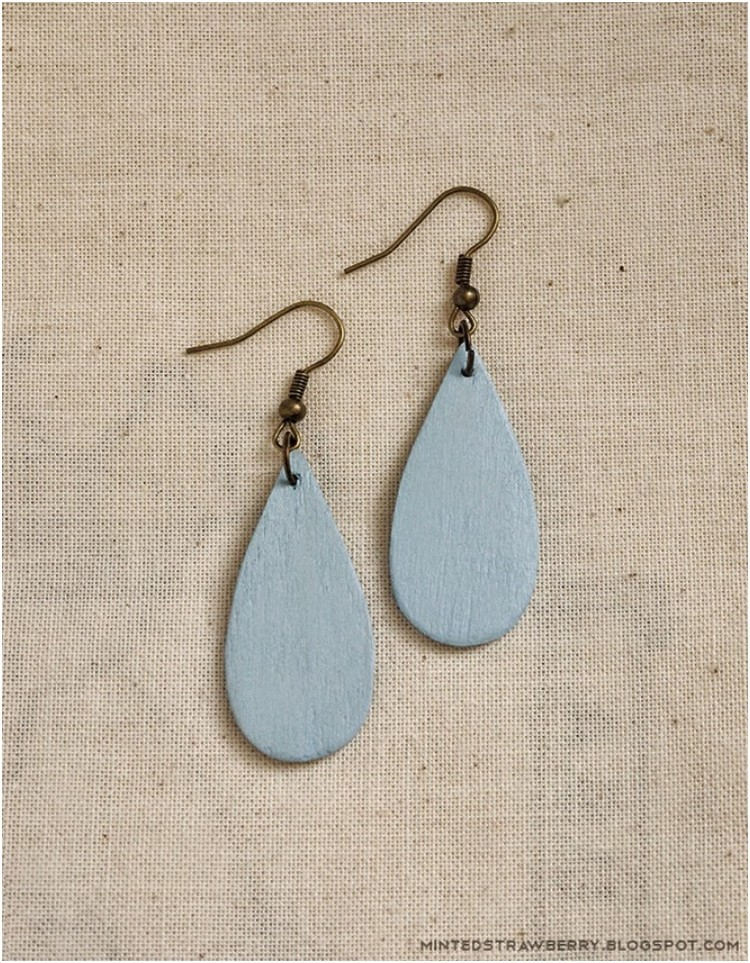 Popsicle Raindrop Earrings