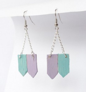 Popsicle Stick Jewelry Ideas