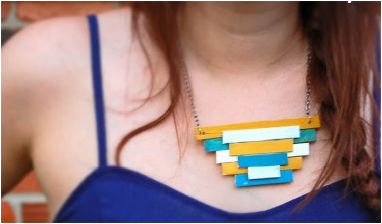 Popsicle Stick Necklace