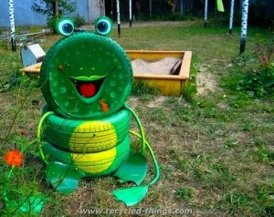Used Tires Recycling Ideas