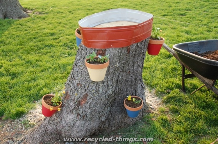 Recycled Tree Ideas