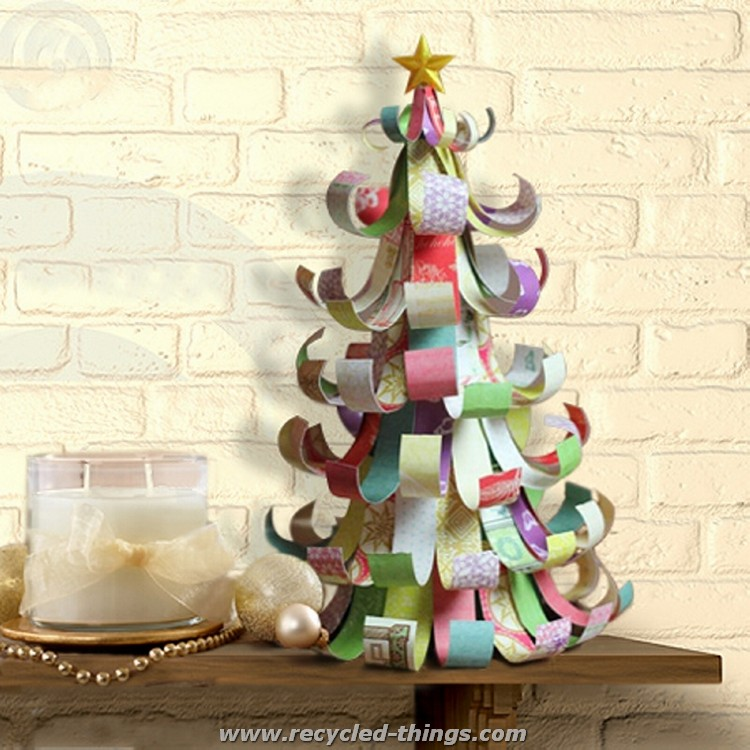 Upcycled tree recycled things 28 images recycled Christmas tree ideas using recycled materials
