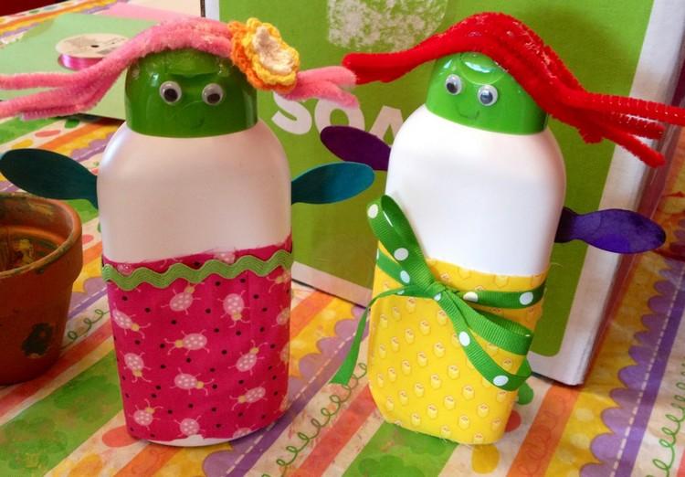 Shampoo Bottles Recycling Ideas