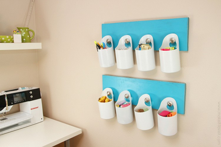 Shampoo Bottles Upcycled