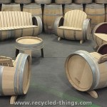Upcycled Wine Barrel Furniture