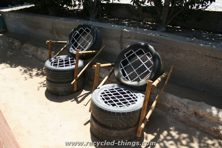 Used Tires Furniture
