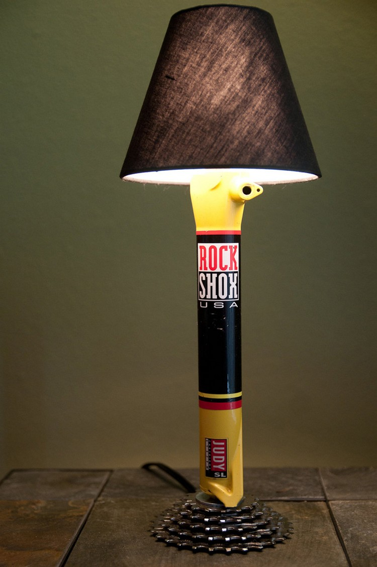 Bicycle Parts Lamp